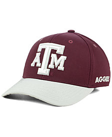 adidas Texas A&M Aggies Coaches Flex Stretch Fitted Cap 2018