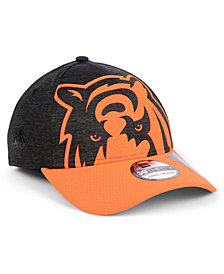 New Era Cincinnati Bengals Oversized Laser Cut Logo 39THIRTY Cap