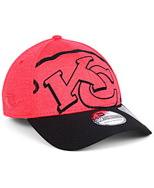 New Era Kansas City Chiefs Oversized Laser Cut Logo 39THIRTY Cap