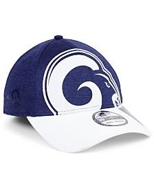 New Era Los Angeles Rams Oversized Laser Cut Logo 39THIRTY Cap