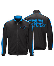 Starter Men's Carolina Panthers The Challenger Track Jacket