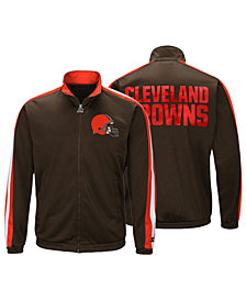 Starter Men's Cleveland Browns The Challenger Track Jacket