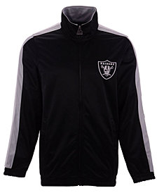 Starter Men's Oakland Raiders The Challenger Track Jacket