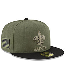 New Era New Orleans Saints Salute To Service 59FIFTY FITTED Cap
