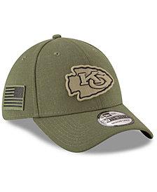 New Era Kansas City Chiefs Salute To Service 39THIRTY Cap