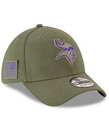 New Era Minnesota Vikings Salute To Service 39THIRTY Cap