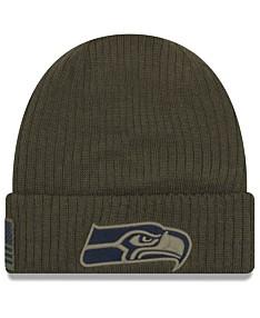 49c90285ca5 New Era Seattle Seahawks Salute To Service Cuff Knit Hat