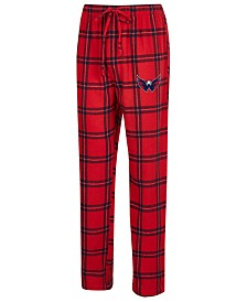 Concepts Sport Men's Washington Capitals Homestretch Flannel Pajama Pants