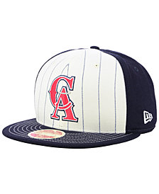 New Era Los Angeles Angels Vintage Front 59FIFTY FITTED Cap