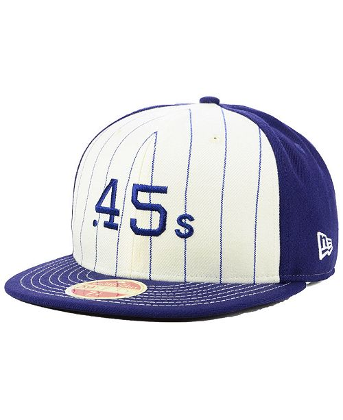 c832c5211fc New Era Houston Colt 45s Vintage Front 59FIFTY FITTED Cap - Sports ...