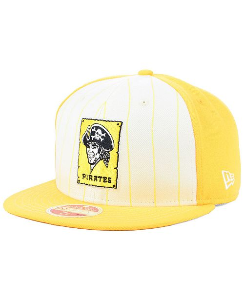 New Era Pittsburgh Pirates Vintage Front 59FIFTY FITTED Cap