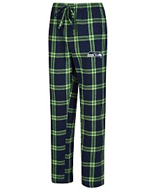 Concepts Sport Men's Seattle Seahawks Homestretch Flannel Sleep Pants