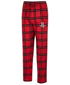 Men's Houston Rockets Homestretch Flannel Sleep Pants