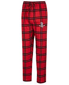 Concepts Sport Men's Houston Rockets Homestretch Flannel Sleep Pants