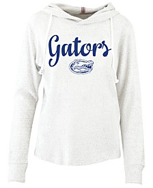 Pressbox Women's Florida Gators Cuddle Knit Hooded Sweatshirt