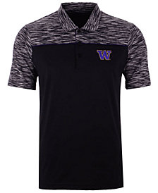 Antigua Men's Washington Huskies Final Play Polo