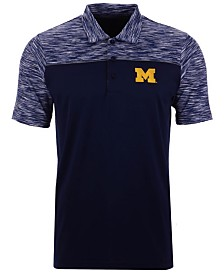 Antigua Men's Michigan Wolverines Final Play Polo
