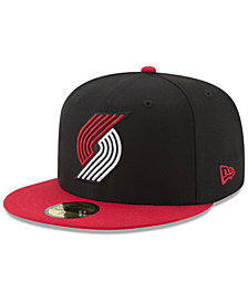 New Era Portland Trail Blazers Basic 2 Tone 59FIFTY Fitted Cap
