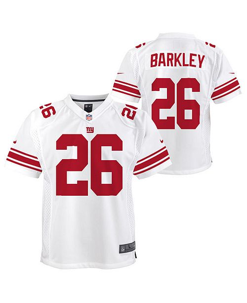 sports shoes 6848c 76032 Saquon Barkley New York Giants Color Rush Jersey, Big Boys (8-20)