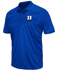 Colosseum Men's Duke Blue Devils Short Sleeve Polo