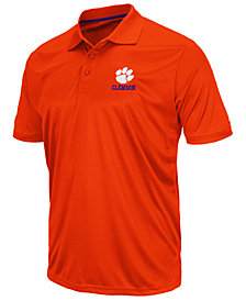 Colosseum Men's Clemson Tigers Short Sleeve Polo