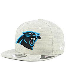 New Era Carolina Panthers Luxe Gray 9FIFTY Snapback Cap
