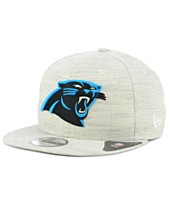 095a321c39637 New Era Carolina Panthers Luxe Gray 9FIFTY Snapback Cap
