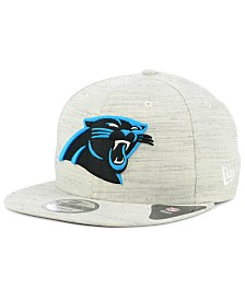 New Era Carolina Panthers Luxe Gray 9FIFTY Snapback Cap