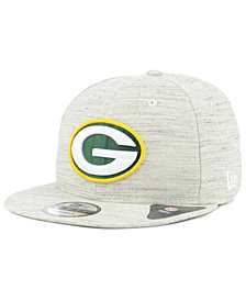 New Era Green Bay Packers Luxe Gray 9FIFTY Snapback Cap