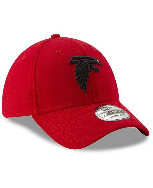 8788de40 ... New Era Atlanta Falcons Logo Elements Collection 39THIRTY Cap ...