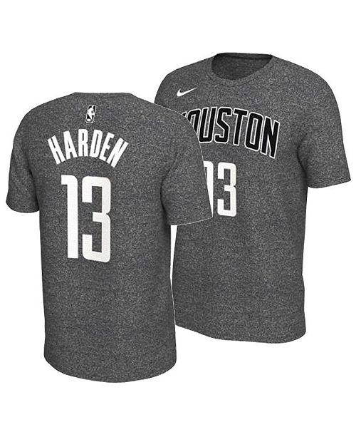 3d2bb8e2 ... Nike Men's James Harden Houston Rockets Marled Player T-Shirt ...