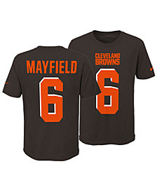 Nike Baker Mayfield Cleveland Browns Pride Name and Number 3.0 T-Shirt, Big Boys (8-20)