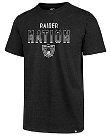 '47 Brand Men's Oakland Raiders Regional Slogan Club T-Shirt