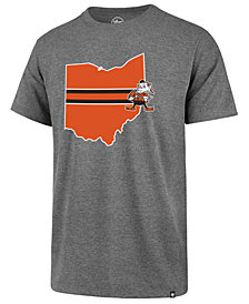 '47 Brand Men's Cleveland Browns Regional Slogan Club T-Shirt