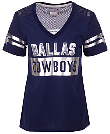 Authentic NFL Apparel Women's Dallas Cowboys Mesh Back Jersey