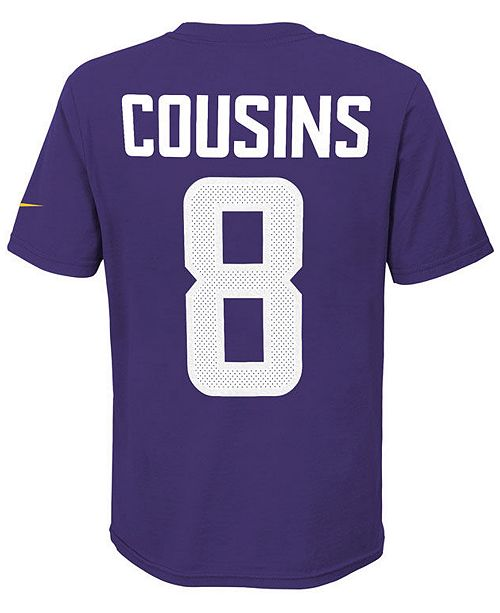 7eb112105 ... Kirk Cousins Minnesota Vikings Pride Name and Number 3.0 T-Shirt