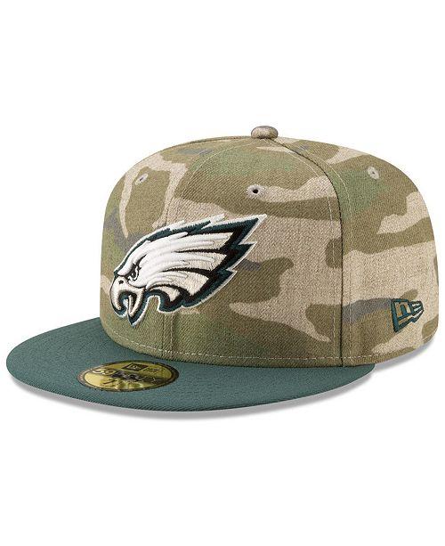 f4a9ddf1f85 ... New Era Philadelphia Eagles Vintage Camo 59FIFTY FITTED Cap ...