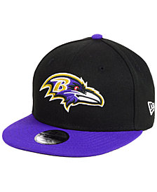 New Era Boys' Baltimore Ravens Two Tone 9FIFTY Snapback Cap