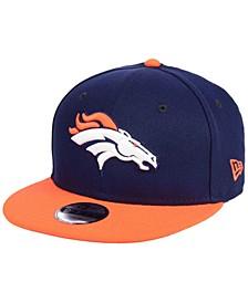 Boys' Denver Broncos Two Tone 9FIFTY Snapback Cap