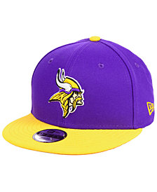 New Era Boys' Minnesota Vikings Two Tone 9FIFTY Snapback Cap