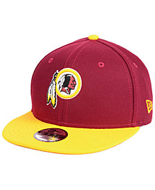 New Era Boys' Washington Redskins Two Tone 9FIFTY Snapback Cap