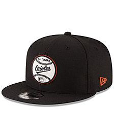 New Era Baltimore Orioles Vintage Circle 9FIFTY Snapback Cap