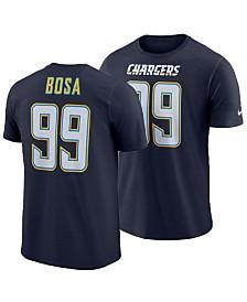 Nike Men's Joey Bosa Los Angeles Chargers Pride Name and Number Wordmark T-Shirt