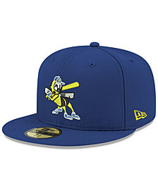 New Era Burlington Bees 2001 Capsule 59FIFTY FITTED Cap