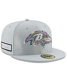 New Era Baltimore Ravens Crucial Catch 59FIFTY FITTED Cap