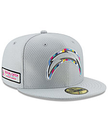 New Era Los Angeles Chargers Crucial Catch 59FIFTY FITTED Cap