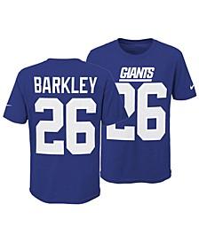 Saquon Barkley New York Giants Pride Name and Number 3.0 T-Shirt, Big Boys (8-20)