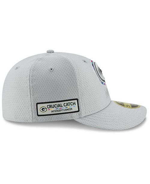 1fd29e4877fd94 ... New Era Green Bay Packers Crucial Catch Low Profile 59FIFTY Fitted Cap  ...
