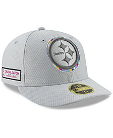 New Era Pittsburgh Steelers Crucial Catch Low Profile 59FIFTY Fitted Cap