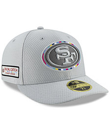 New Era San Francisco 49ers Crucial Catch Low Profile 59FIFTY Fitted Cap
